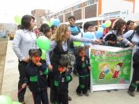 Celebrando la semana de la educación inicial en el Perú.