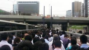 metro politano caos